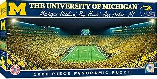 MasterPieces NCAA Michigan Wolverines, Stadium Panoramic Jigsaw Puzzle, 1000 Pieces