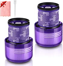 Morpilot 2 Pack Wasbare Filters Vervanging voor Dyson V11 SV14 Cyclone Absolute Animal Fluffy Torque Drive Total Clean en...