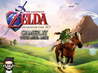 The Legend Of Zelda Ocarina Of Time 3D Gameplay With Mega Mike