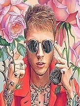 Machine Gun Kelly MGK Rapper Actor Musician 12 x 16 inch poster Bhurma Collection