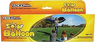 TEDCO 50ft Long Solar Balloon (Age 14+) - Learn About Buoyancy, Convection, Thermodynamics & Solar Power!