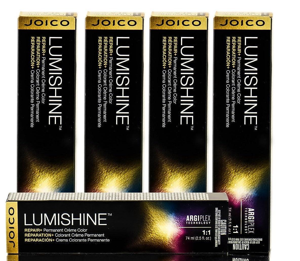 侵入するピジン割り当てJoico Lumishine永久クリーム色、7CC / 7.44、 2.5オンス