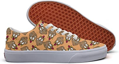 Funny Looking Monster Women's Casual Shoes Sneakers Flat Slip On News Original