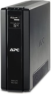 APC BR1500G-GR Back-UPS PRO - Sistema de alimentación ininterrumpida SAI 1500VA (6 tomas