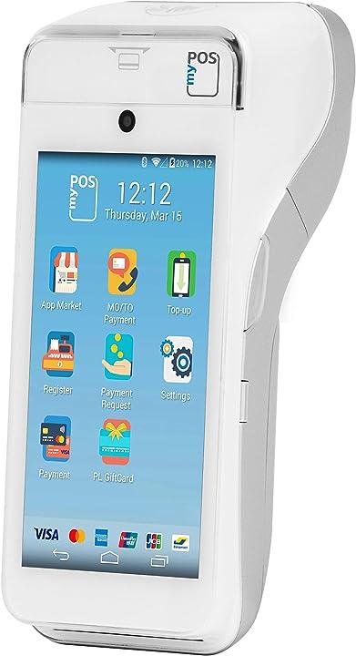 pos - Un terminale pos android | stampante su carta | pagamenti contactless mypos smart A920