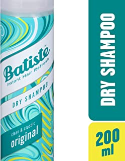 Batiste Dry Instant Hair Refresh Clean and Classic Original Shampoo, 200ml