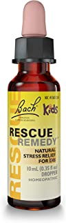 RESCUE REMEDY KIDS Dropper, 10mL – Natural Homeopathic Stress Relief for Kids