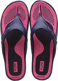 FLITE Women's Navy Pink Slippers-7 UK (40 2/3 EU) (FL0347L_NVPK0007)