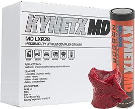 KYNETX Automotive Wheel Bearing Grease, GC-LB, NLGI Grade #2, (MD LXR28), 14 Oz Cartridge, 10 Pack