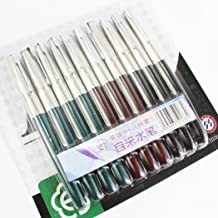 WellieSTR 10 pcs Classic Fountain Pen Hero 616 in 3 colors