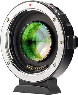 VILTROX EF-M2Ⅱ(二代目) スピードブースター 0.71 X 焦点距離を短縮 AF キャノン Canon EFレンズ→マイクロフォーサーズ変換 マウントアダプター パナソニック GH/GXシリーズ オリンパス M43カメラに対応 絞...