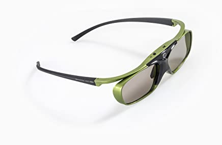 """Optoma-Compatible DLP Link 3D Shutter Glasses""""Lime Heaven"""" - for All DLP 3D Projectors: Acer, BenQ, Optoma, Viewsonic, Philips, LG, Infocus, Vivitek   Compatible with ZD302   by Hi-SHOCK"""