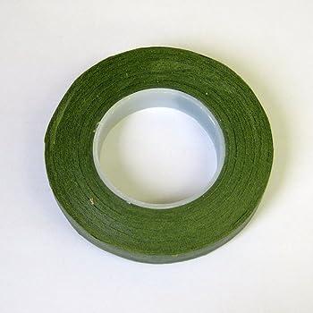 フローラテープ モスグリーン 幅12.5mm×長さ27m
