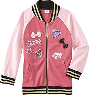 Happy Threads JoJo Siwa Girls Never Quit Varsity Jacket