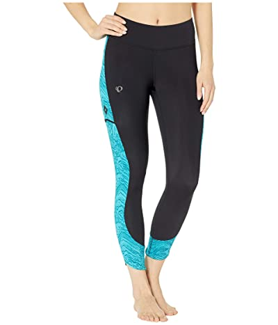 Pearl Izumi Studio 3/4 Tights (Black/Breeze Phyllite) Women