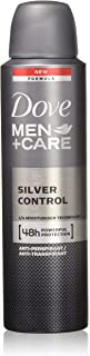 Dove Men+care Silver Control 48hr Protection Deodorant 150ml 6-Pack