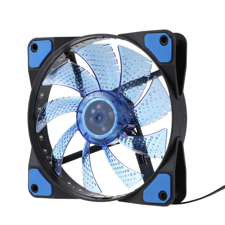 SODIAL 120mm Ordenador PC 16db Caja Ultra Silenciosa De 33 LED ...