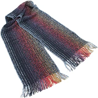 Biddy Murphy Irish Scarf Merino Wool and Cashmere Blend 62 Inches Long by 9 Inches Wide Made in Ireland