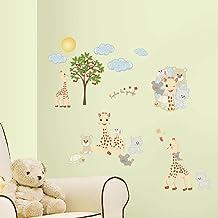 RoomMates Sophie De Giraffe Muurstickers