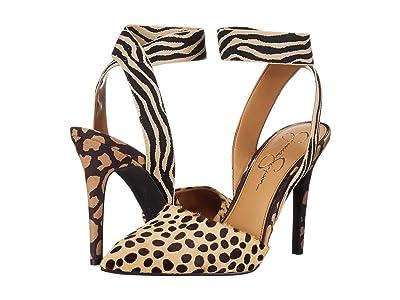 Jessica Simpson Perinna 2 (Natural Spotty Cheetah Haircalf) Women