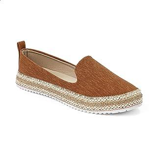 حذاء حريمي سهل الارتداء من قماش Grinta