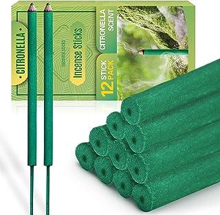 LA BELLEFÉE Incence Sticks Citronella Incence Stick Lemongrass Sticks Made with Natural Plant Based Ingredients Citronella...