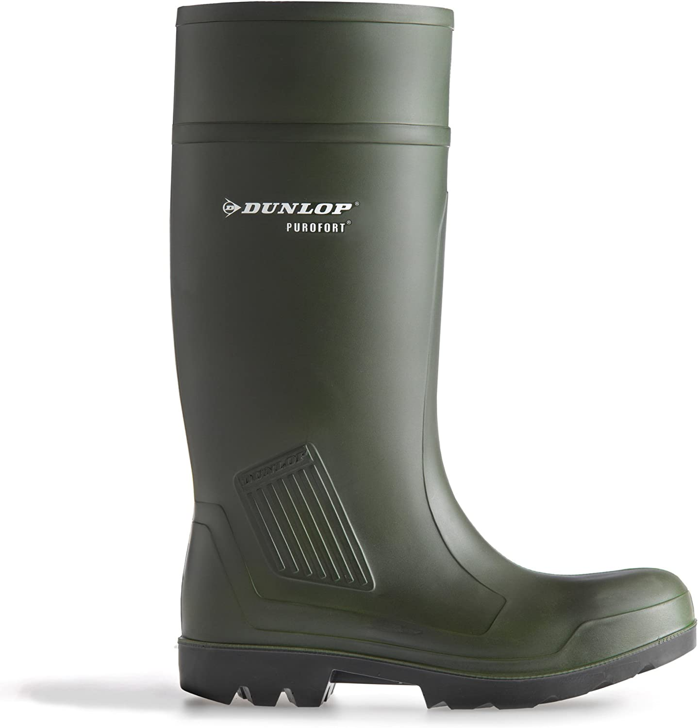 Dunlop Purofort Professional Safety C462933 Boxed Wellington Mens Boots (44 EUR) (Green)