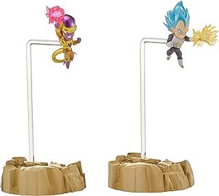 Dragon Ball Super – Dragon Stars Nano Super Saiyan Blue Vegeta vs. Golden Frieza Figure 2-Pack