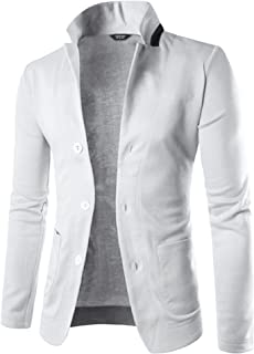 COOFANDY Mens Casual Slim Fit Blazer 3 Button Suit Sport Coat Lightweight Jacket