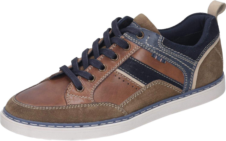 Manitu Men's Lace-Up Flats Brown Brown