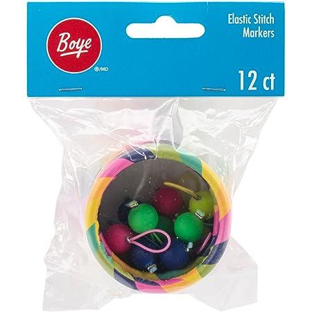 Boye Marqueurs à point élastique Multicolore 5,59 x 4,45 cm