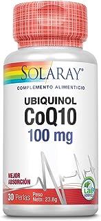 Solaray Ubiquinol CoQ-10 100 mg   Coenzyma Q10   30 Perlas