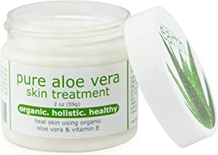 Pure Aloe Vera Treatment with Organic Coconut, Olive Oil & Vitamin E, 2 oz