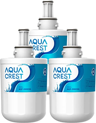 3 x AQUACREST DA29-00003G Filtre à Eau, Remplacement pour Samsung Aqua Pure Plus DA29-00003G, DA29-00003B, DA29-00003...