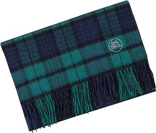 The Tartan Blanket Co. Lambswool Baby Blanket Black Watch Tartan (30