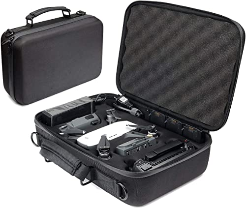 lowest WGear Designed Case outlet online sale for DJI Spark with Shoulder Strap, Customized Compartments for Spark, 2pc Batteries, Charger, Controllers online and Extra Propellers, Spider Foam in The lid for Excellent Protection outlet sale