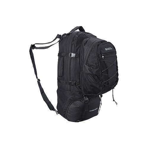 Mountain Warehouse Traveller 60 + 20L Rucksack - Detachable Daypack ea82a3a46ef5a