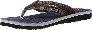 Sparx Men's Denim Flip-Flops and House Slippers - 8 UK/India(SFG-12)