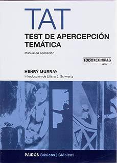 TEST DE APERCEPCION TEMATICA - TAT (Spanish Edition)