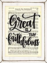 Great is Thy Faithfulness by Imperfect Dust Art Print, 12 x 16 inches