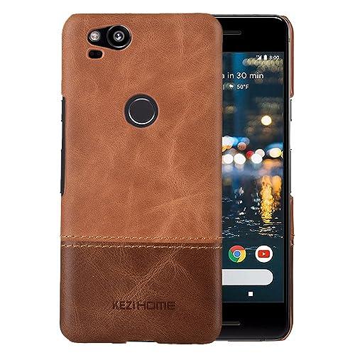 size 40 e5571 8a5d9 Pixel 2 Leather Case: Amazon.com