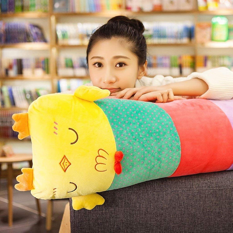 HSDDA Babyspielzeug Cartoon Cartoon Cartoon Küken halten Kissen Nachttisch Cute Rechteck abnehmbar und waschbar Office Home Sofa Kissen (Design  A, Größe  28  105 cm) Puppe B07PCPPYDV c8296c