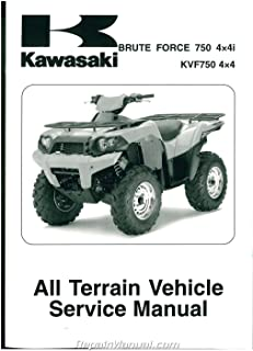99924-1394-04 2008-2011 Kawasaki KVF750 D E F Brute Force 4X4i ATV Service Manual