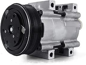 Mophorn CO 101700C (4R3Z19703A) 4718124 Universal Air Conditioner AC Compressor for 99-03 Ford F-250 A/C Compressor 5U2Z19V703FD F77Z19703AB 471-8124 57161 58161