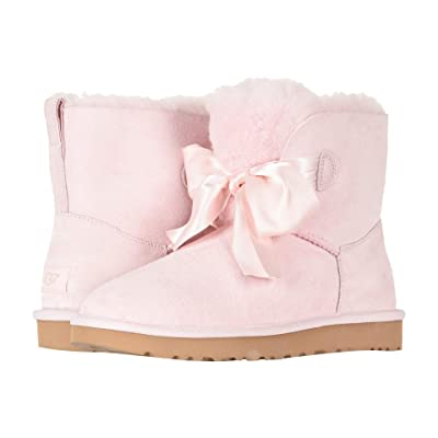UGG Gita Bow Mini Boot (Seashell Pink) Women