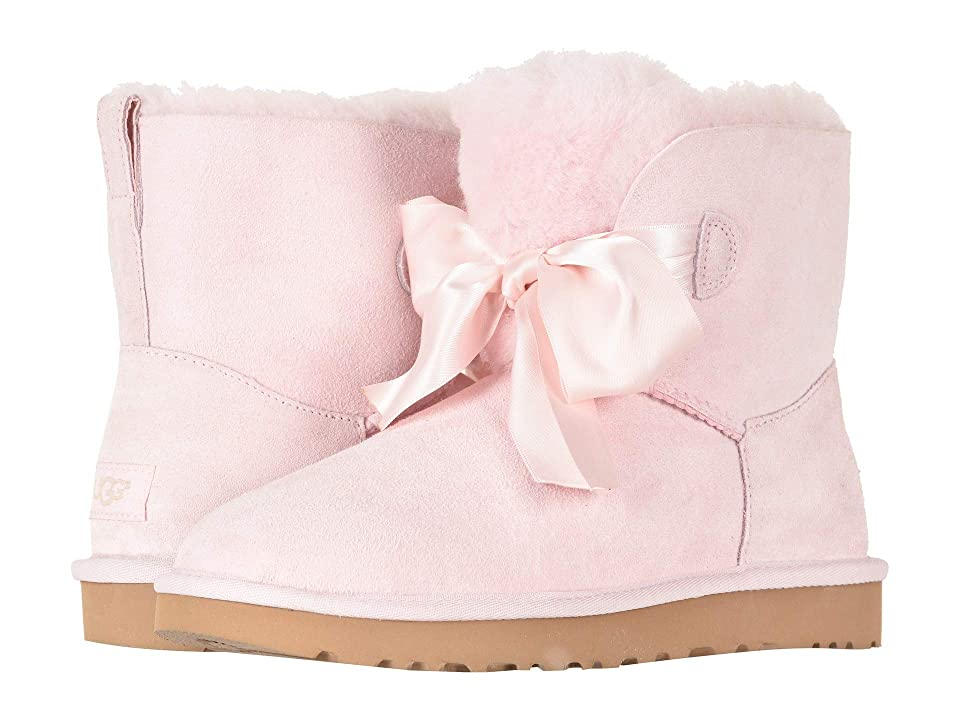 UGG Gita Bow Mini Boot (Seashell Pink) Women