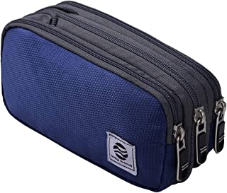 Only Warm Large Pencil Pen Case Office College School Soft Big Expand Storage Bag Pouch Box Organizer