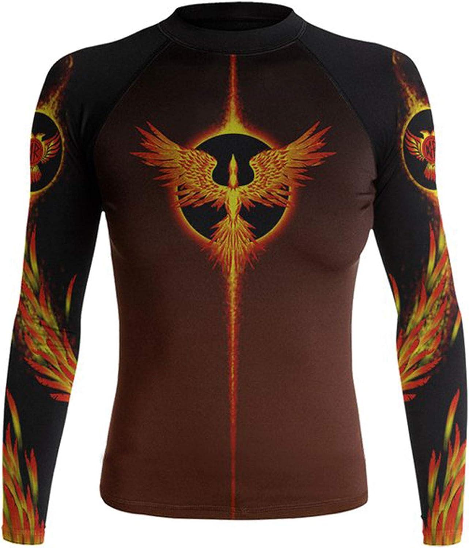 Raven Fightwear Women's The Phoenix Rash Guard MMA BJJ Black
