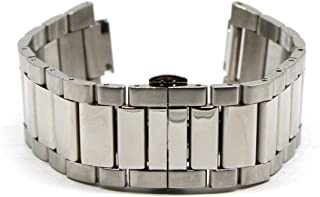 27MM Silver Stainless Steel 7.5 Inch Watch Strap Bracelet Fits Endurance Men's Watch Authentic