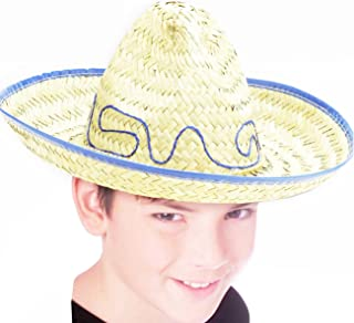 Child Size Straw Costume Hat
